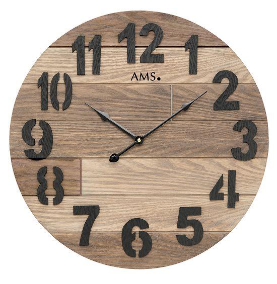 お洒落なデザインです! AMS掛け時計 アームス壁掛け時計 AMS9569【送料無料】 【楽ギフ_のし】【楽ギフ_メッセ入力】【楽ギフ_名入れ】