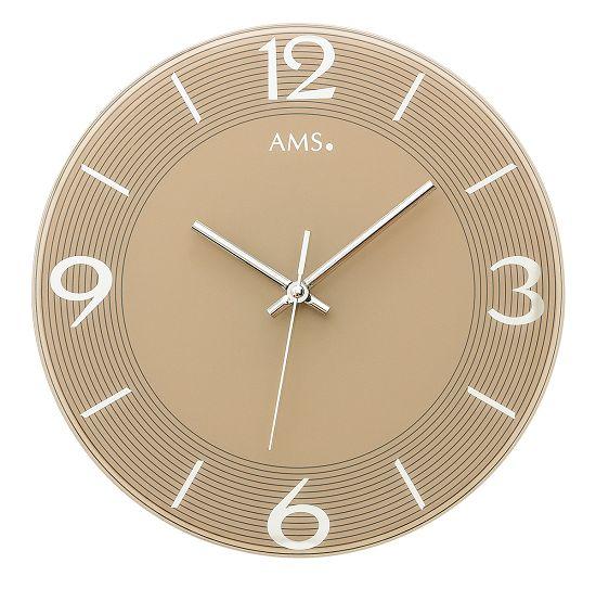 シンプルなデザインが魅力! AMS壁掛け時計 アームス掛け時計 AMS9572【送料無料】 【楽ギフ_のし】【楽ギフ_メッセ入力】【楽ギフ_名入れ】