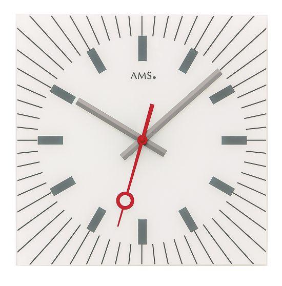 シンプルなデザインが魅力! AMS壁掛け時計 アームス掛け時計 AMS9576【送料無料】 【楽ギフ_のし】【楽ギフ_メッセ入力】【楽ギフ_名入れ】