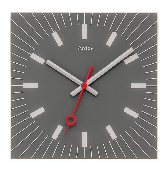 シンプルなデザインが魅力! AMS壁掛け時計 アームス掛け時計 AMS9577【送料無料】 【楽ギフ_のし】【楽ギフ_メッセ入力】【楽ギフ_名入れ】