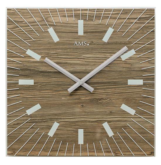 シンプルなデザインが魅力! AMS壁掛け時計 アームス掛け時計 AMS9578【送料無料】 【楽ギフ_のし】【楽ギフ_メッセ入力】【楽ギフ_名入れ】