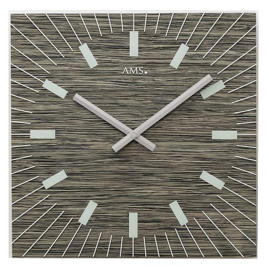 シンプルなデザインが魅力! AMS壁掛け時計 アームス掛け時計 AMS9579【送料無料】 【楽ギフ_のし】【楽ギフ_メッセ入力】【楽ギフ_名入れ】