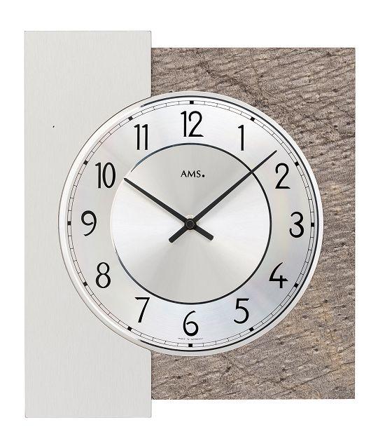 シンプルなデザインが魅力! AMS壁掛け時計 アームス掛け時計 AMS9580【送料無料】 【楽ギフ_のし】【楽ギフ_メッセ入力】【楽ギフ_名入れ】