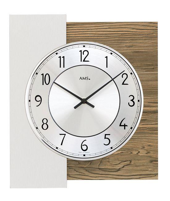 シンプルなデザインが魅力! AMS壁掛け時計 アームス掛け時計 AMS9582【送料無料】 【楽ギフ_のし】【楽ギフ_メッセ入力】【楽ギフ_名入れ】