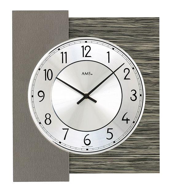 シンプルなデザインが魅力! AMS壁掛け時計 アームス掛け時計 AMS9584【送料無料】 【楽ギフ_のし】【楽ギフ_メッセ入力】【楽ギフ_名入れ】