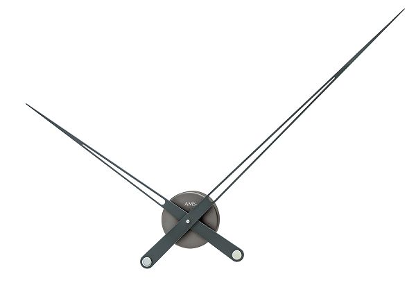 AMSアームス掛け時計 BIG CLOCK ドイツ製 9598 AMS掛け時計 スタイリッシュな掛け時計【楽ギフ_のし】【楽ギフ_メッセ入力】【楽ギフ_名入れ】