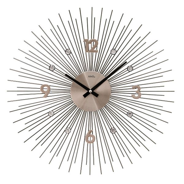 斬新なデザインです! AMS アームス掛け時計 AMS9610【送料無料】 【楽ギフ_のし】【楽ギフ_メッセ入力】【楽ギフ_名入れ】