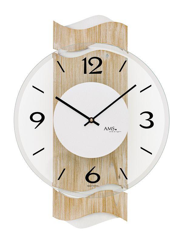 AMS アームス掛け時計  ドイツ製 AMS9621 AMS掛け時計 スタイリッシュな掛け時計【楽ギフ_のし】【楽ギフ_メッセ入力】【楽ギフ_名入れ】