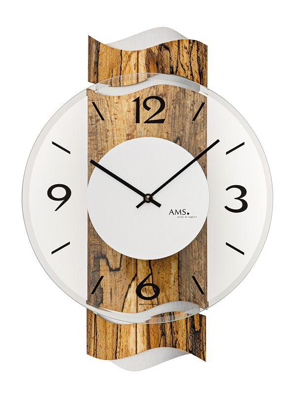 AMS アームス掛け時計  ドイツ製 AMS9622 AMS掛け時計 スタイリッシュな掛け時計【楽ギフ_のし】【楽ギフ_メッセ入力】【楽ギフ_名入れ】