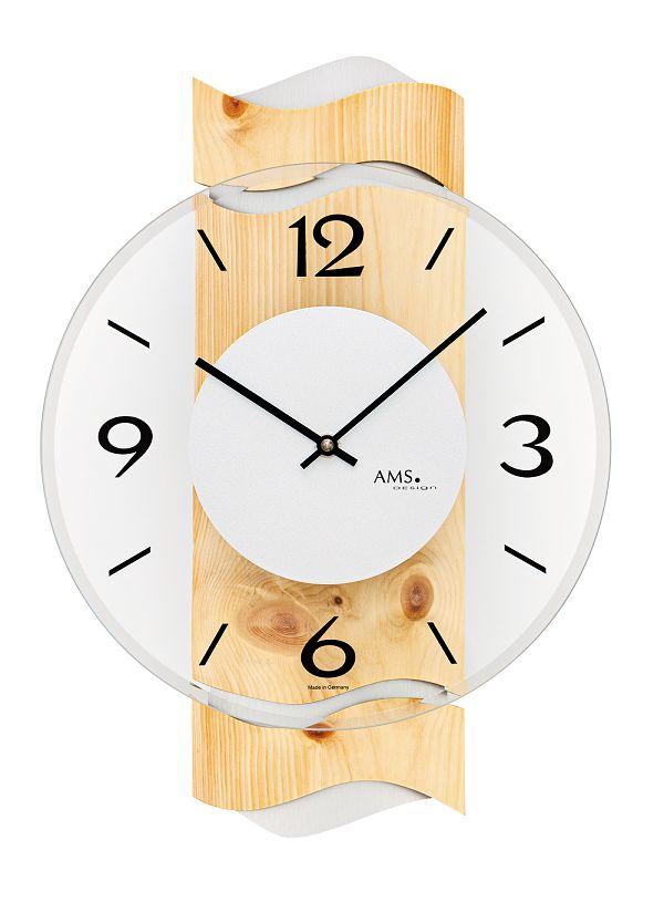 AMS アームス掛け時計  ドイツ製 AMS9623 AMS掛け時計 スタイリッシュな掛け時計【楽ギフ_のし】【楽ギフ_メッセ入力】【楽ギフ_名入れ】