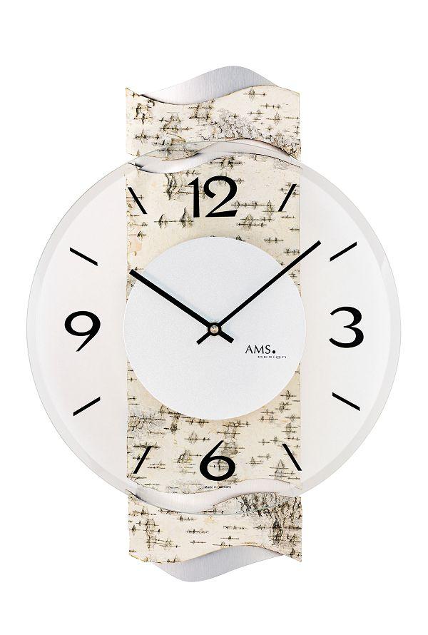 AMS アームス掛け時計  ドイツ製 AMS9624 AMS掛け時計 スタイリッシュな掛け時計【楽ギフ_のし】【楽ギフ_メッセ入力】【楽ギフ_名入れ】