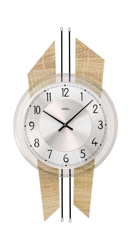 AMSアームス掛け時計 ドイツ製 9625 AMS掛け時計 スタイリッシュな掛け時計【楽ギフ_のし】【楽ギフ_メッセ入力】【楽ギフ_名入れ】