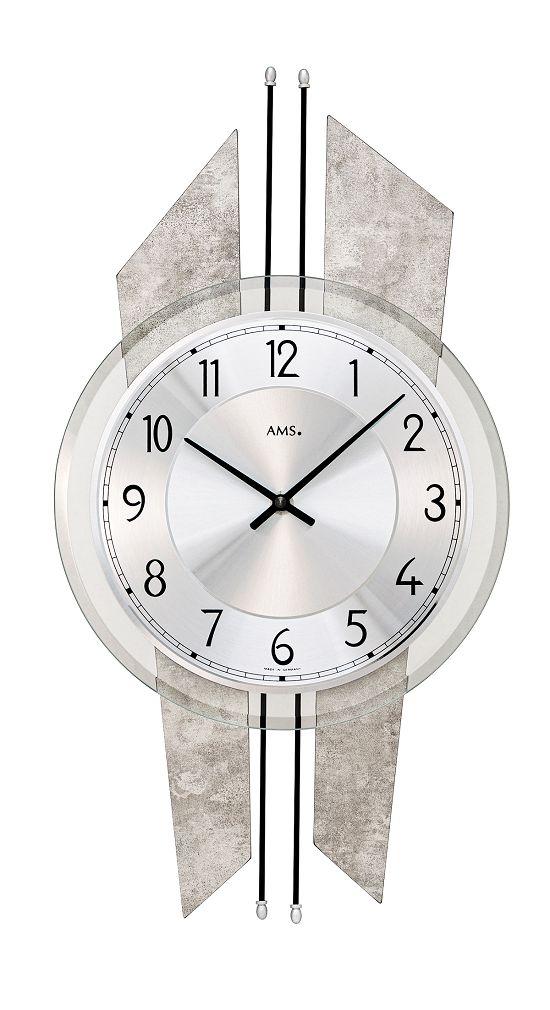AMSアームス掛け時計 ドイツ製 9626 AMS掛け時計 スタイリッシュな掛け時計【楽ギフ_のし】【楽ギフ_メッセ入力】【楽ギフ_名入れ】