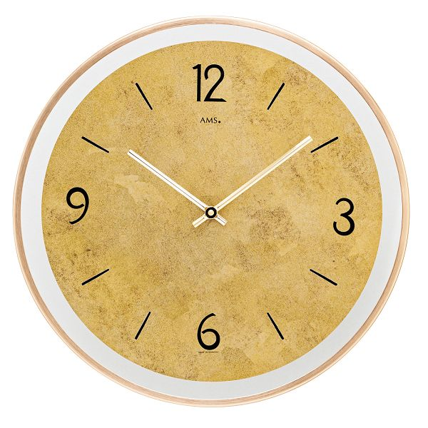 AMS アームス掛け時計  ドイツ製 AMS9627 AMS掛け時計 スタイリッシュな掛け時計【楽ギフ_のし】【楽ギフ_メッセ入力】【楽ギフ_名入れ】