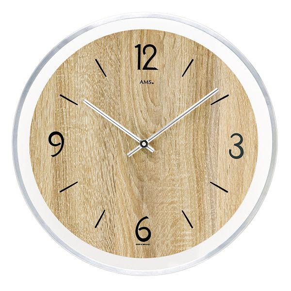 AMS アームス掛け時計  ドイツ製 AMS9628 AMS掛け時計 スタイリッシュな掛け時計【楽ギフ_のし】【楽ギフ_メッセ入力】【楽ギフ_名入れ】