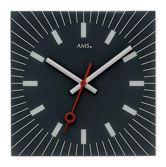 シンプルなデザインが魅力! AMS壁掛け時計 アームス掛け時計 AMS9575【送料無料】 【楽ギフ_のし】【楽ギフ_メッセ入力】【楽ギフ_名入れ】