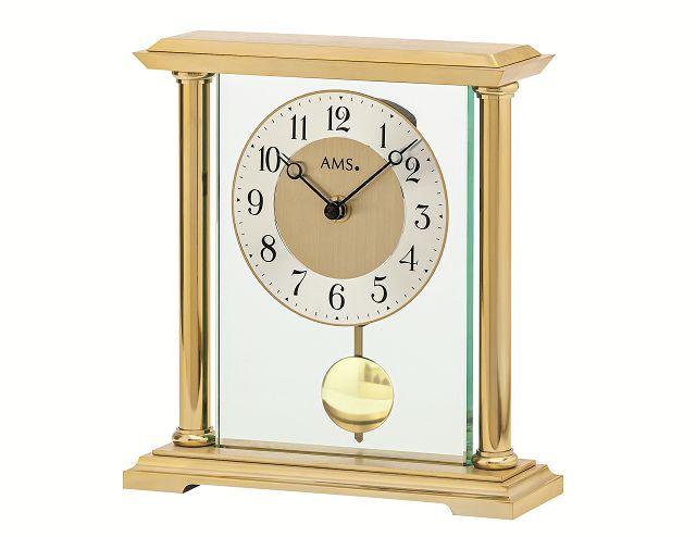 スタイリッシュで見やすい!AMS振り子置き時計 1143 AMS置き時計