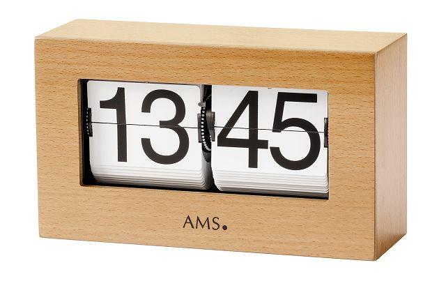 シンプル&スタイリッシュ! AMS置き時計 1175-18 デジタルクロック