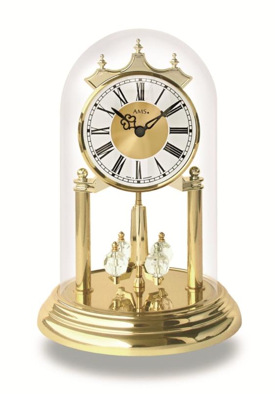 AMSアームス置き時計 アニバーサリークロック 回転振り子  ドイツ ams1202 AMS置時計