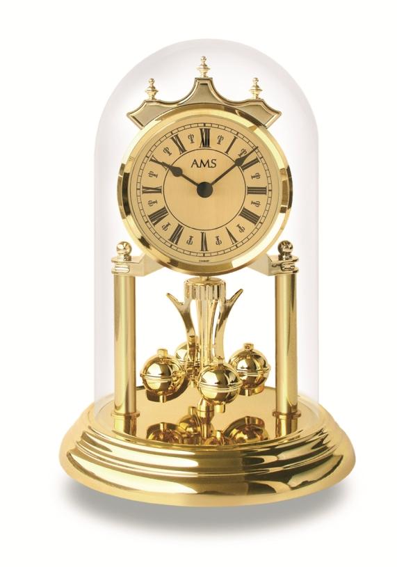 AMSアームス置き時計 アニバーサリークロック 回転振り子  ドイツ ams1203 AMS置時計