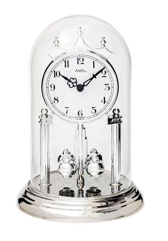AMSアームス置き時計 アニバーサリークロック 回転振り子  ドイツ ams1206 AMS置時計