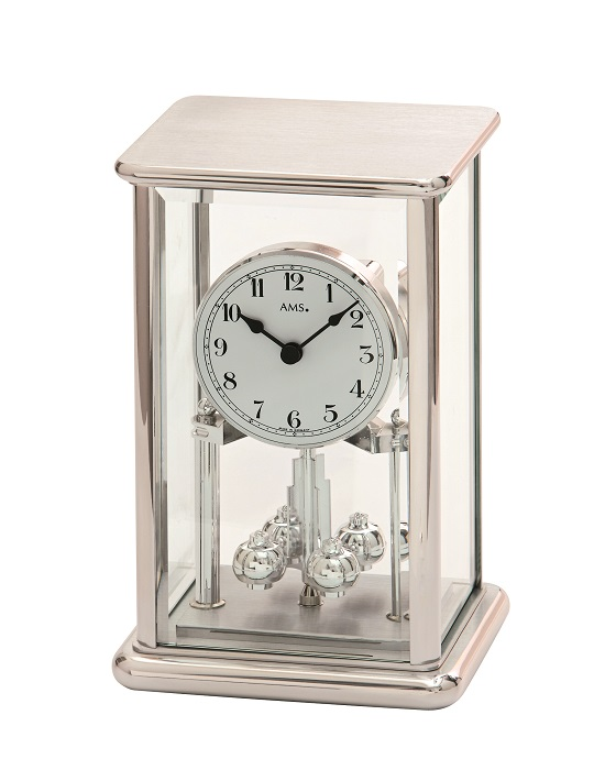AMSアームス置き時計  ドイツ ams1210 AMS回転振り子置時計