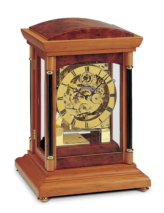 AMSアームス置時計 報時 機械式 ドイツ ams2187-9 AMS置き時計