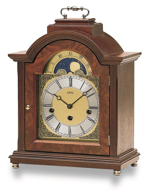 機械式が魅力!AMS報時置き時計 2195-1 アームス置時計