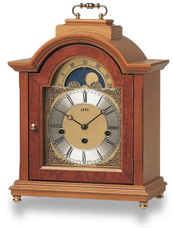 機械式が魅力!AMS報時置き時計 2195-9 アームス置時計