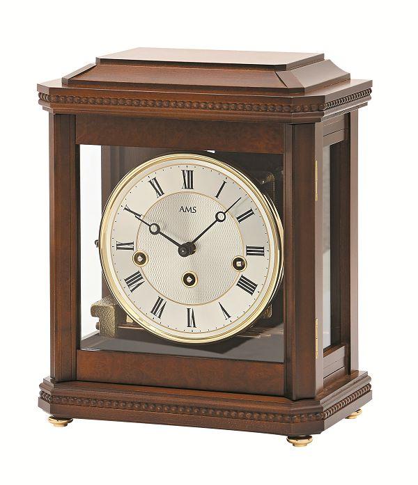 機械式が魅力!AMS報時置き時計 2196-1 アームス置時計