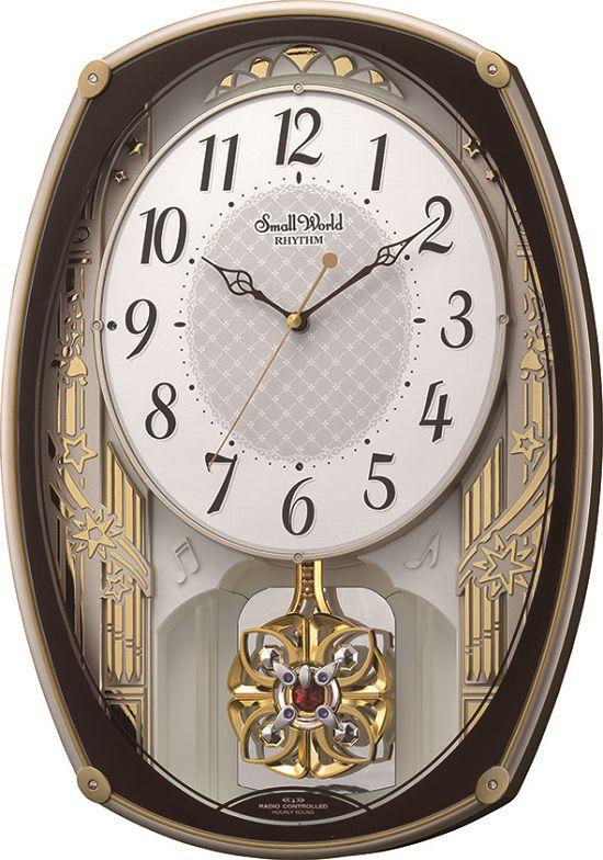 リズム時計 RHYTHM からくり時計 アミュージング振り子時計 からくり時計 スモールワールドレジーナ 4MN540RH06 リズム時計【楽ギフ_のし】【楽ギフ_メッセ入力】【楽ギフ_名入れ】