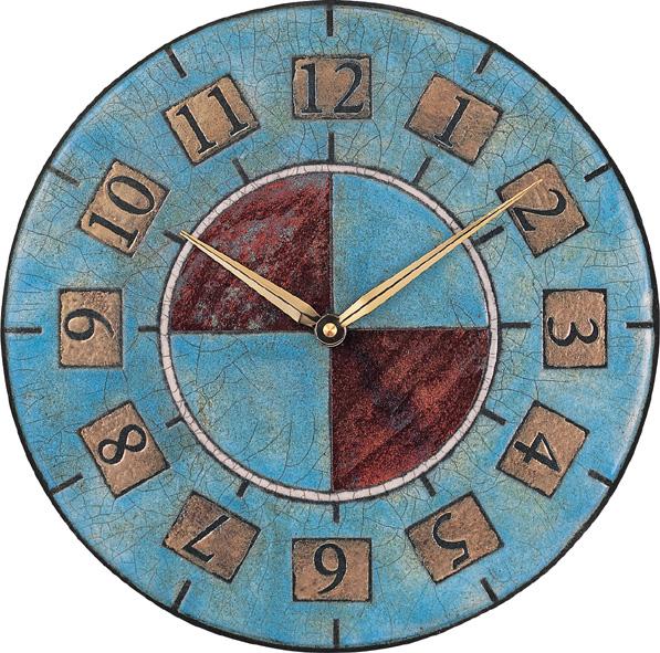 アントニオ・ザッカレラ陶器掛け時計ZC005-005 名入れ ANTONIO ZACCARELLA【楽ギフ_のし】【楽ギフ_メッセ入力】
