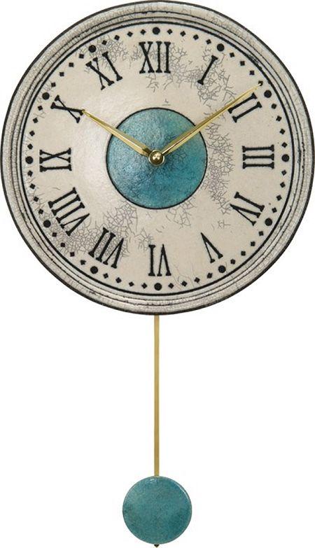 アントニオ・ザッカレラ陶器振り子時計ZC121-003 掛け時計 名入れ ANTONIO ZACCARELLA【楽ギフ_のし】【楽ギフ_メッセ入力】