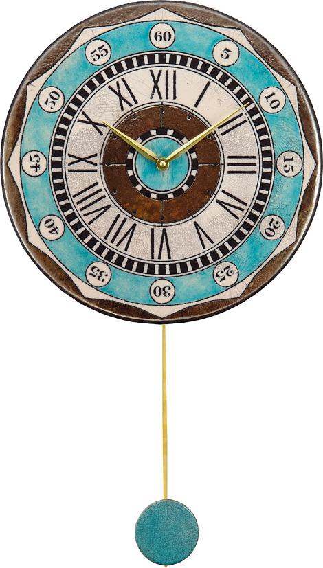 アントニオ・ザッカレラ陶器振り子時計ZC135-004 掛け時計 名入れ ANTONIO ZACCARELLA 【楽ギフ_のし】【楽ギフ_メッセ入力】