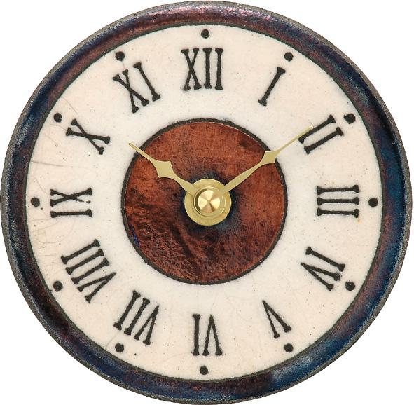 アントニオ・ザッカレラ陶器置き掛け兼用時計ZC154-009