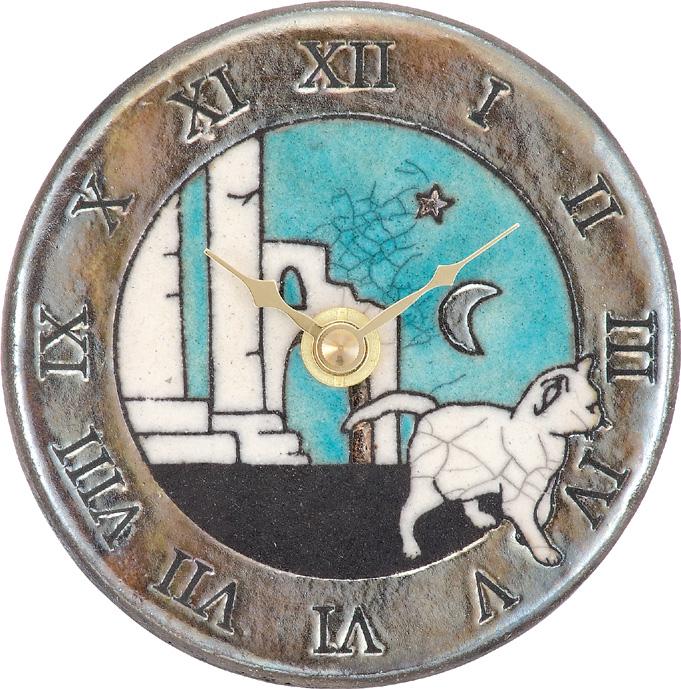 アントニオ・ザッカレラ陶器置き掛け兼用時計ZC169-A04 名入れ ANTONIO ZACCARELLA