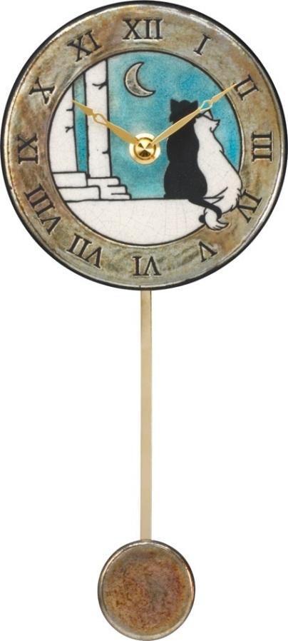 アントニオ・ザッカレラ陶器振り子時計ZC176-A04 掛け時計【楽ギフ_のし】【楽ギフ_メッセ入力】【楽ギフ_名入れ】