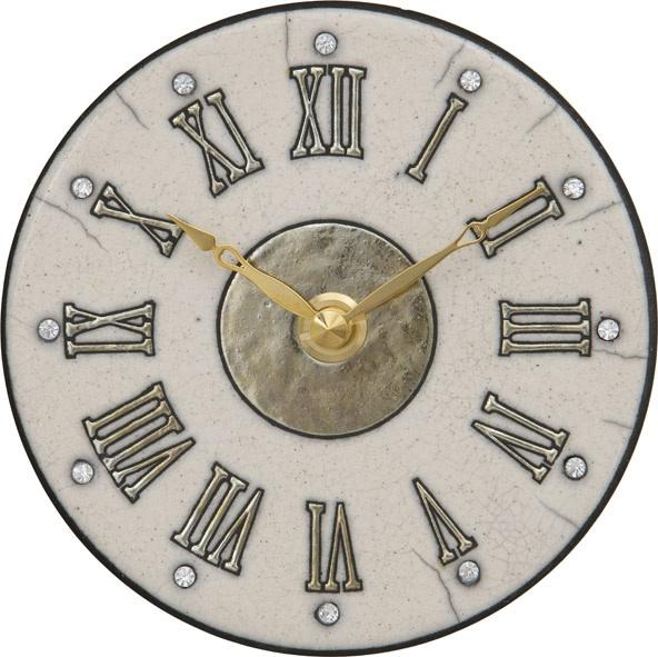アントニオ・ザッカレラ陶器置き掛け兼用時計 ZC183-A03 名入れ