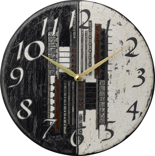 アントニオ・ザッカレラ陶器掛け時計 ZC186-003 名入れ ANTONIO ZACCARELLA【楽ギフ_のし】【楽ギフ_メッセ入力】