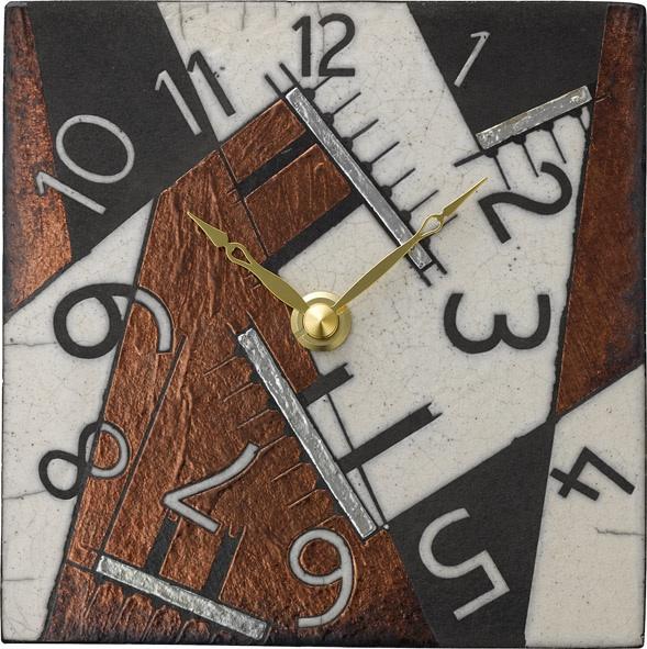 アントニオ・ザッカレラ陶器 置き掛け兼用時計 ZC188-009 名入れ ANTONIO ZACCARELLA【楽ギフ_のし】【楽ギフ_メッセ入力】