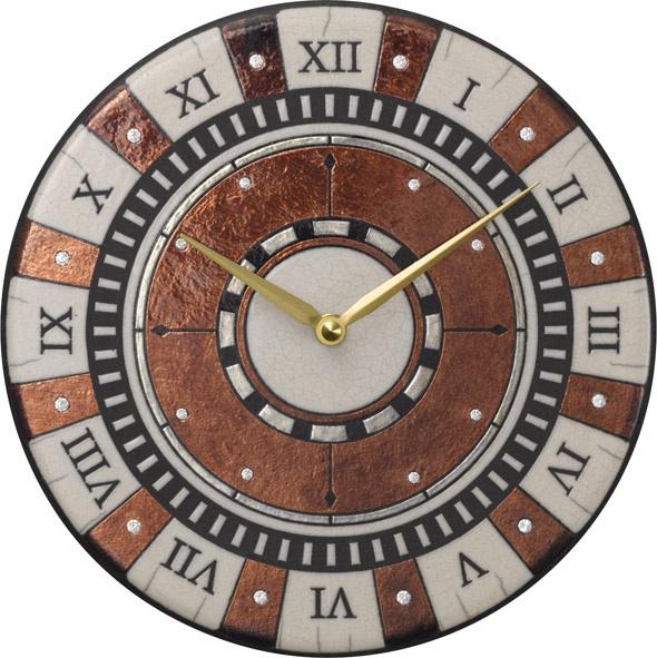 アントニオ・ザッカレラ陶器掛け時計 ZC901-009 名入れ ANTONIO ZACCARELLA【楽ギフ_のし】【楽ギフ_メッセ入力】