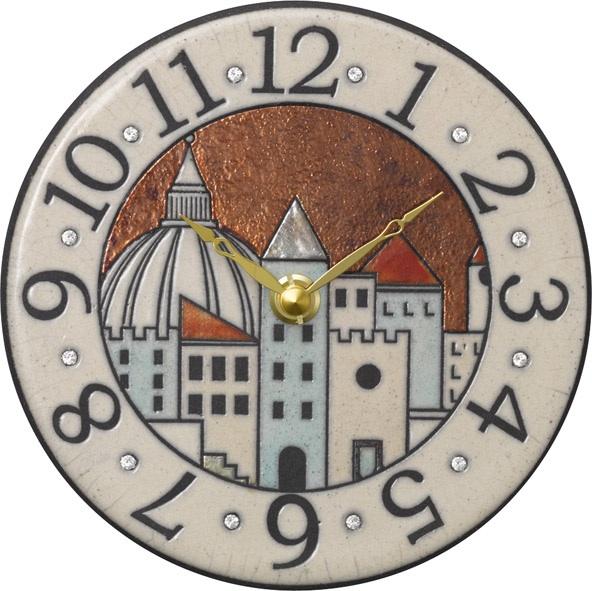 アントニオ・ザッカレラ陶器 置き掛け兼用時計 ZC903-001 名入れ ANTONIO ZACCARELLA【楽ギフ_のし】【楽ギフ_メッセ入力】