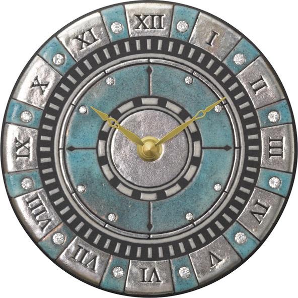 アントニオ・ザッカレラ陶器 置き掛け兼用時計 ZC905-004 名入れ ANTONIO ZACCARELLA【楽ギフ_のし】【楽ギフ_メッセ入力】