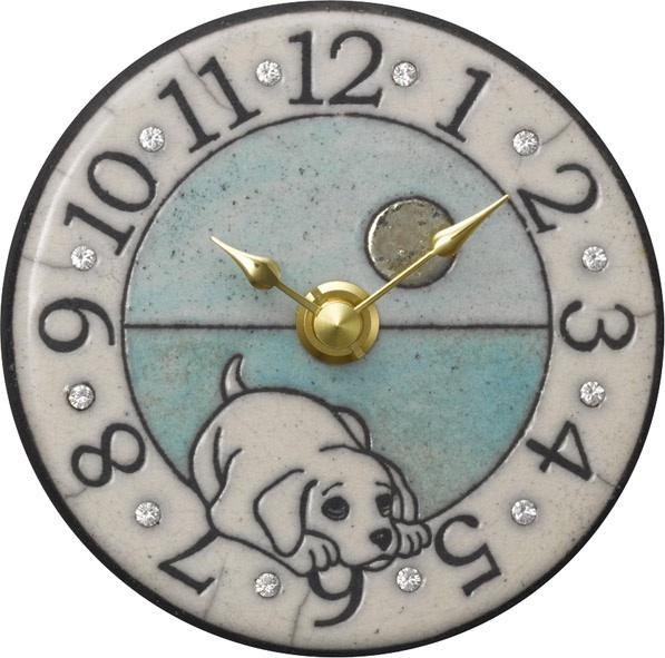 アントニオ・ザッカレラ陶器 置き掛け兼用時計 ZC908-004【楽ギフ_のし】【楽ギフ_メッセ入力】【楽ギフ_名入れ】