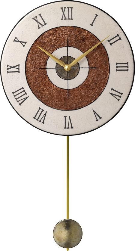 アントニオ・ザッカレラ Antonio Zaccarella 陶器振り子時計ZC911-003 掛け時計 名入れ 【楽ギフ_のし】【楽ギフ_メッセ入力】