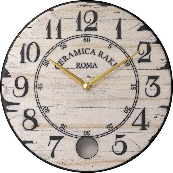 アントニオ・ザッカレラ陶器振り子時計ZC912-003 掛け時計 名入れ ANTONIO ZACCARELLA【楽ギフ_のし】【楽ギフ_メッセ入力】