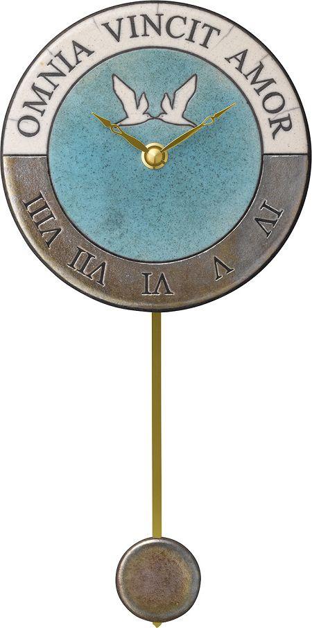 アントニオ・ザッカレラ陶器振り子時計ZC916-0043 掛け時計 名入れ ANTONIO ZACCARELLA【楽ギフ_のし】【楽ギフ_メッセ入力】