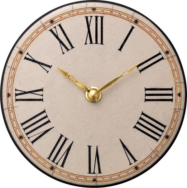 陶器の温かさとイタリアンアートに溢れる魅力! アントニオ・ザッカレラ陶器 置き掛け兼用時計 ZC922-003 名入れ【楽ギフ_のし】【楽ギフ_メッセ入力】