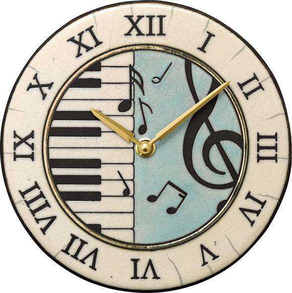 アントニオ・ザッカレラ陶器置き掛け兼用時計ZC953-004 名入れ ANTONIO ZACCARELLA【楽ギフ_のし】【楽ギフ_メッセ入力】