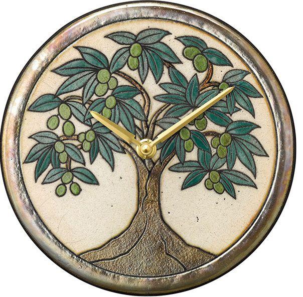 陶器の温かさとイタリアンアートに溢れる魅力! アントニオ・ザッカレラ Antonio Zaccarella 陶器製置き掛け兼用時計 ZC954-005 名入れ 【楽ギフ_のし】【楽ギフ_メッセ入力】